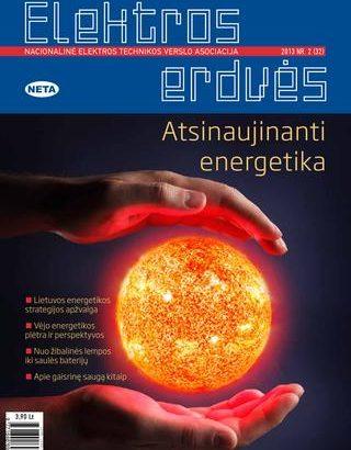 Žurnalas Elektros Erdvės Nr. 32 2013
