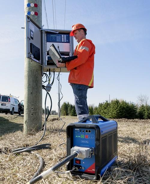 Automatinio kartotinio įjungimo įrenginių testavimas, darbas lauke