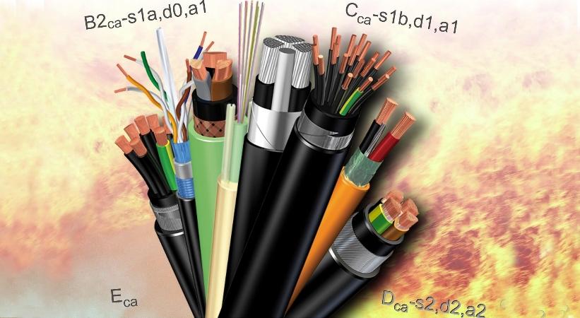 Vidaus elektros sistemų ir buitinės įrangos stacionariosios instaliacijos kabelių reakcija į gaisrą